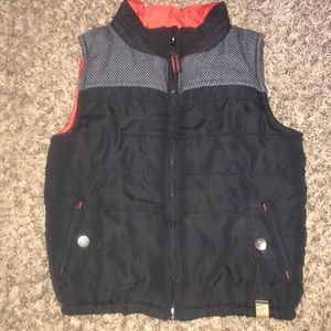 Oshkosh Black Puff Vest size 4T
